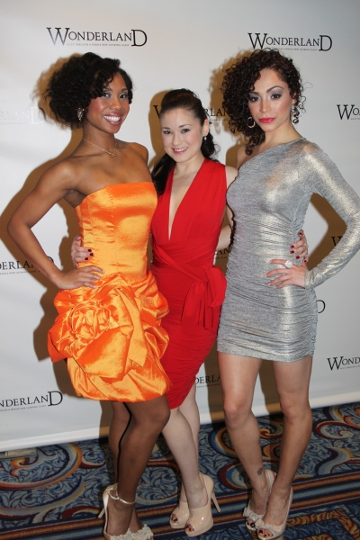 Lauren Lim Jackson, April Berry and Tanairi Sade Vazquez