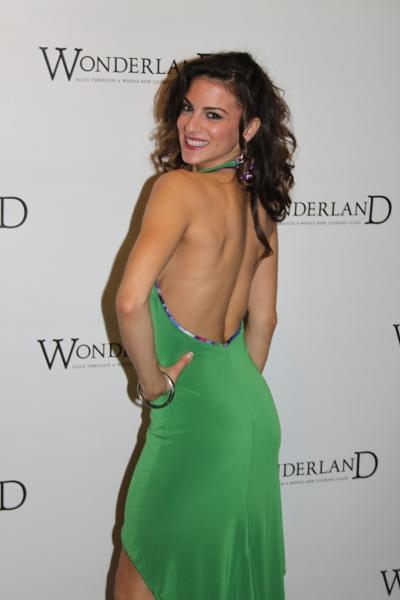 Renée Marino at WONDERLAND Opening Night on Broadway - Party!