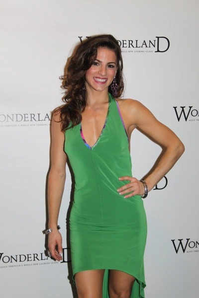 Renée Marino at WONDERLAND Opening Night on Broadway - Party!