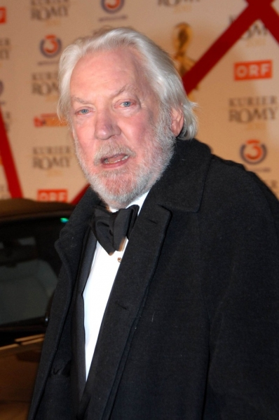 Donald Sutherland at Donald Sutherland Honored at Kurier Romy Gala in Venice