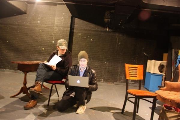 Nick Lawson and Jonathan Blitstein Photo