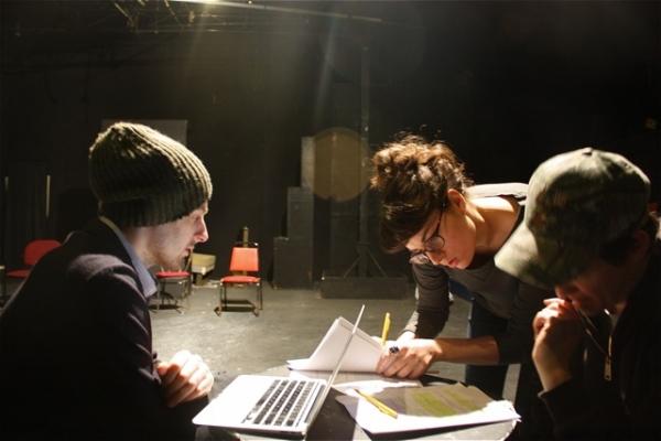 Jonathan Blitstein, Laura Ramadei, and Nick Lawson Photo