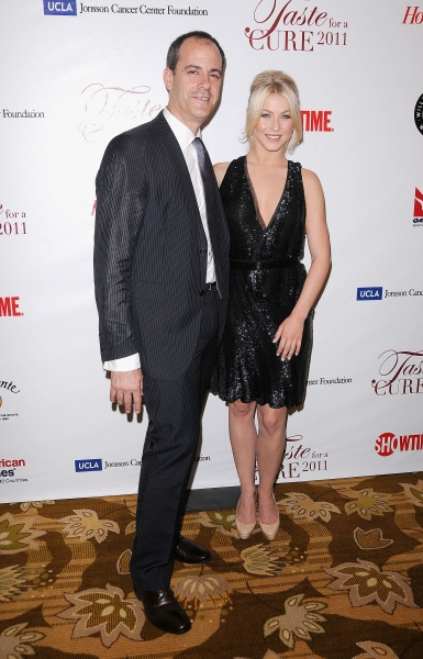 "David Nevins (Showtime Networks President of Entertainment) and Julianne Hough at UCLA's Jonsson Cancer Foundation ""Taste For a Cure"" Fundraiser  Beverly Wilshire Hotel, Beverly Hills, CA, USA  April 15, 2011  © RD/Jackson/ Retna Digital"