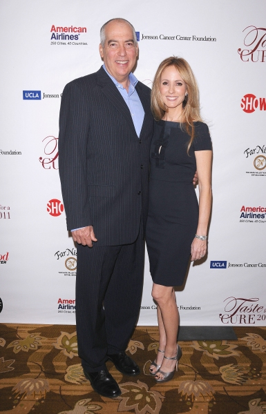 """Gary Newman (Chairman, 20th Century Fox Television) and Dana Walden (Chairman, 20th Century Fox Television)at UCLA's Jonsson Cancer Foundation """"Taste For a Cure"""" Fundraiser  Beverly Wilshire Hotel, Beverly Hills, CA, USA  April 15, 2011  © RD/Jackson/ Re"""