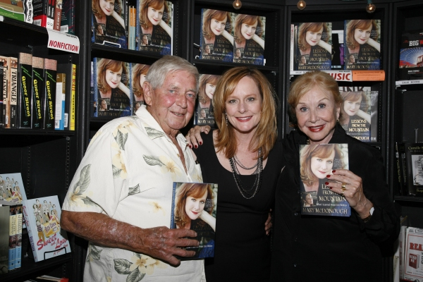 Mary McDonough with proud TV parents Ralph Waite and Michael Learned