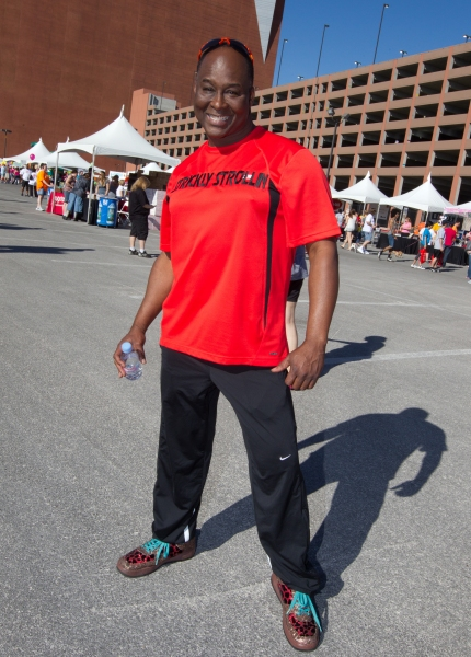Larry Edwards pictured at The AFAN 21st ANNUAL AIDS WALK LAS VEGAS at World Market Center in Las Vegas, NV on April 17, 2011. © RD/ Kabik/ Retna Digital