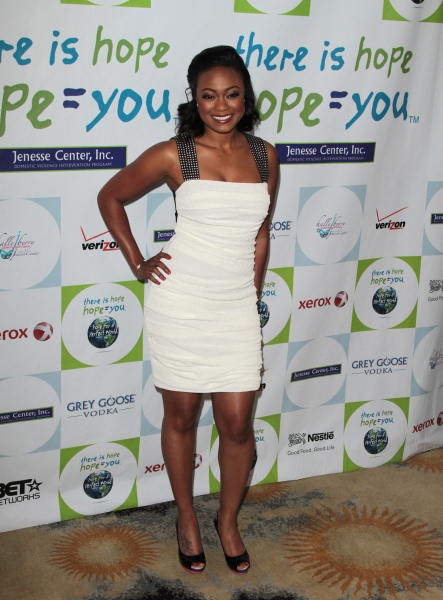 Tatyana Ali at Halle Berry & More at the 31st Annual Jenesses Silver Rose Gala