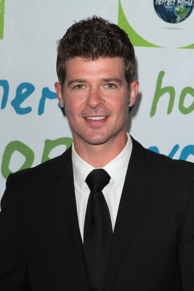 Robin Thicke at Halle Berry & More at the 31st Annual Jenesses Silver Rose Gala