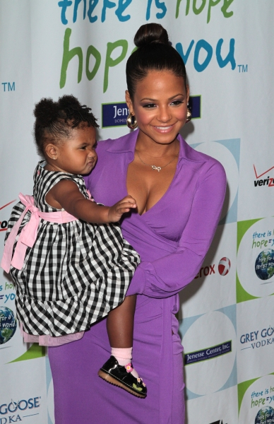 Christina Milian, daughter