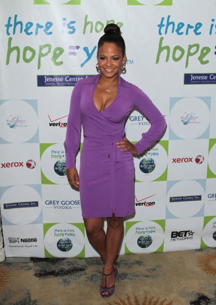 Christina Milian at Halle Berry & More at the 31st Annual Jenesses Silver Rose Gala