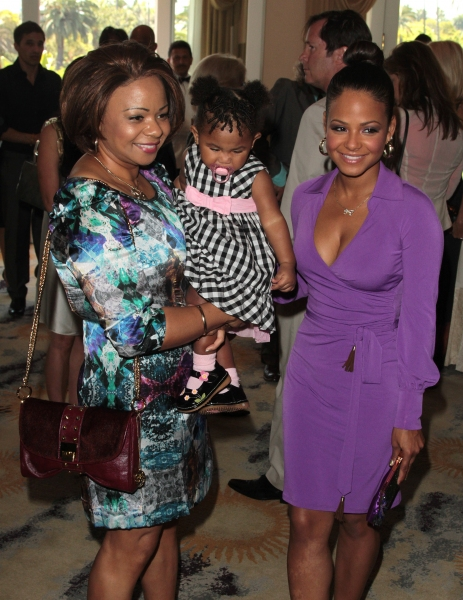 Christina Milian, Mother, Daughter Photo