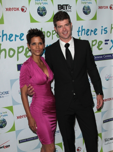 Halle Berry, Robin Thicke
