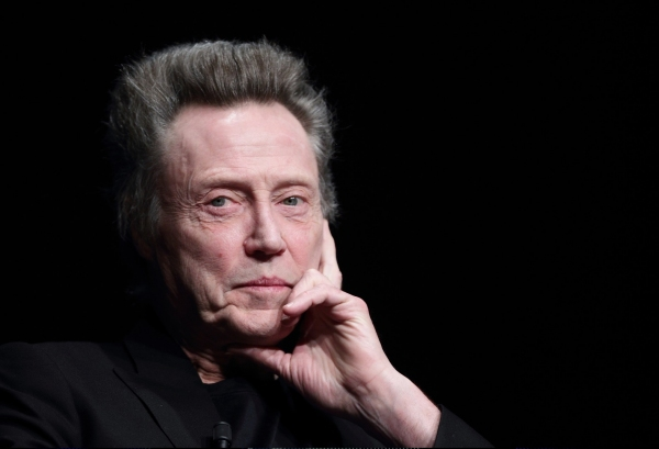Photo Coverage: Christopher Walken Visits 'Meeting with American Cinema' Conference in Rome