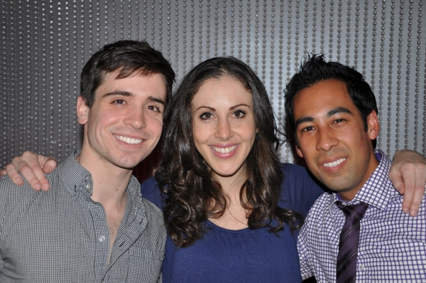 Matt Doyle, Anna Ty Bergman, Justin Mendoza Photo