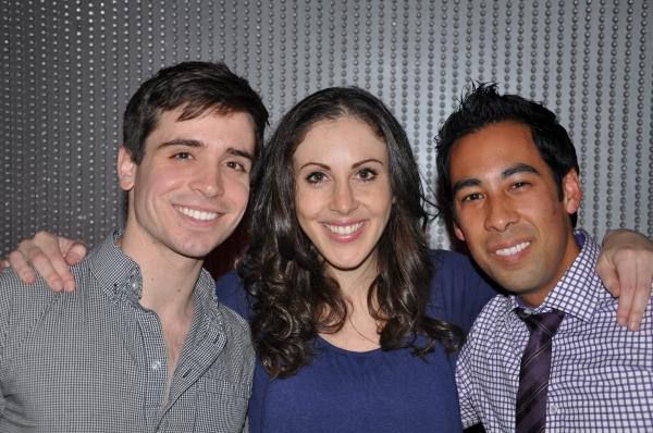 Matt Doyle, Anna Ty Bergman, Justin Mendoza