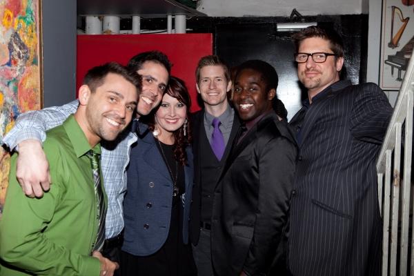 Jamey Ray, Scott Alan, Cassie McIvor, Matt Lutz, Mykal Kilgore and Christopher Sieber