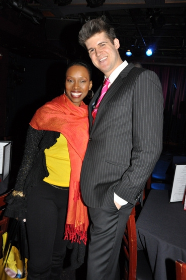 Brenda Braxton and John Forslund (Producer of tonight's show)