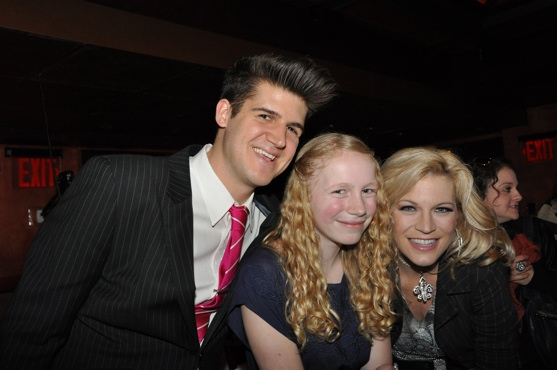 John Forslund, Kayla Goldman and Felicia Finley