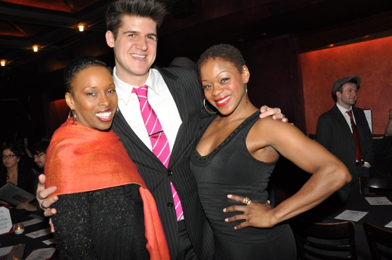 Brenda Braxton, John Forslund and Nikki Kimbrough at Jackson, Braxton & More at 'Theatre of Rock' Concert