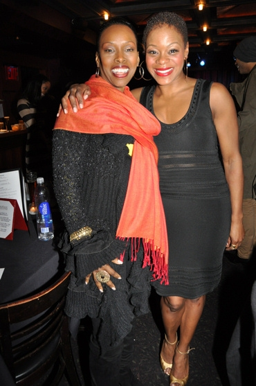 Brenda Braxton and Nikki Kinbrough