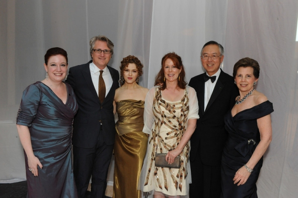 Maggie Boland, Eric Schaeffer, Bernadette Peters, Ted Shen and Adrienne Arsht Mary J Photo