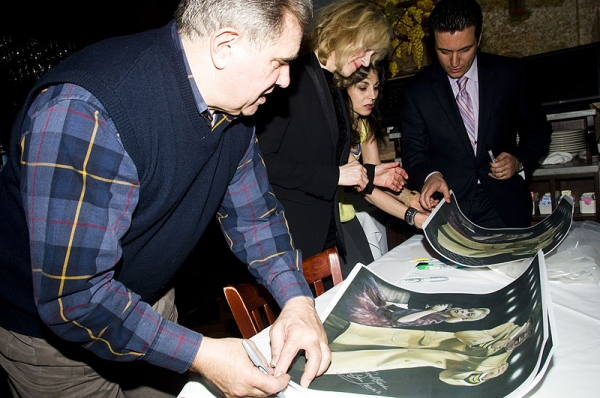 Photo Coverage: Tony di Napoli Inducts Dan Lauria & Judith Light to Broadway Wall of Fame