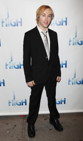 Michael A. Alden attending the Broadway Opening Night Performance Arrivals of 'High' in New York City. at HIGH Opening Night Red Carpet