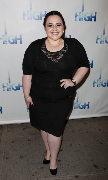 Nikki Blonsky attending the Broadway Opening Night Performance Arrivals of 'High' in New York City.