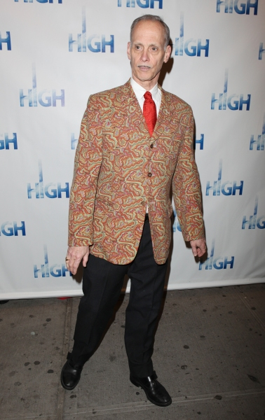 John Waters attending the Broadway Opening Night Performance Arrivals of 'High' in New York City. at HIGH Opening Night Red Carpet