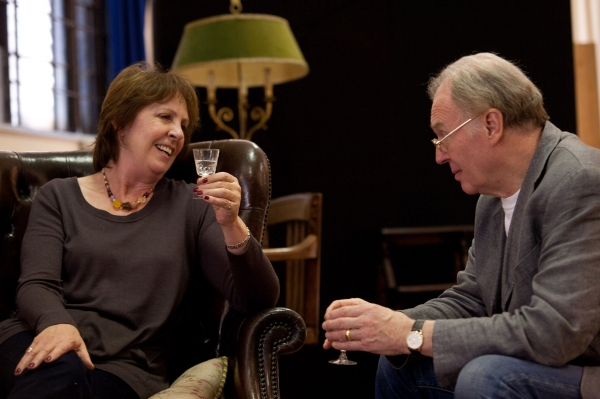 Penelope Wilton and Tim Pigott-Smith