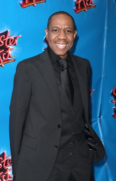 Freddie Jackson attending the Broadway Opening Night Performance of 'Sister Act' at the Broadway Theatre n New York City.