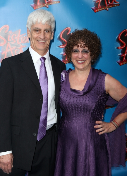 Bill Steinkellner & Cheri Steinkellner attending the Broadway Opening Night Performance of 'Sister Act' at the Broadway Theatre n New York City.