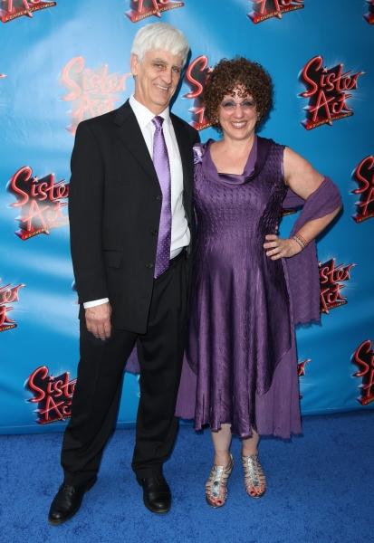 Bill Steinkellner & Cheri Steinkellner attending the Broadway Opening Night Performan Photo