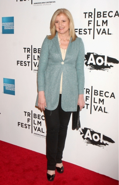Arianna Huffington at Martin Scorsese's 'The Union' Opens at Tribeca Film Fest