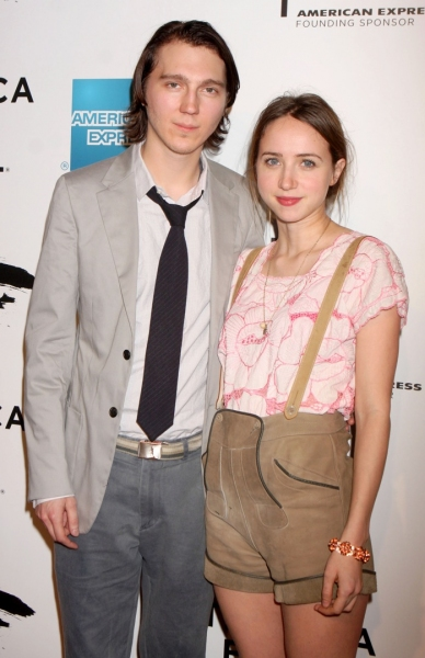Paul Dano and Zoe Kazan at Martin Scorsese's 'The Union' Opens at Tribeca Film Fest