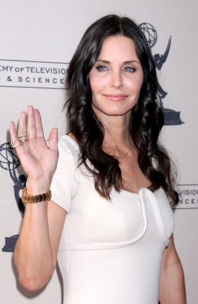 Courtney Cox at Academy of Arts and Television Sciences Honors Cox and 'Cougar Town'