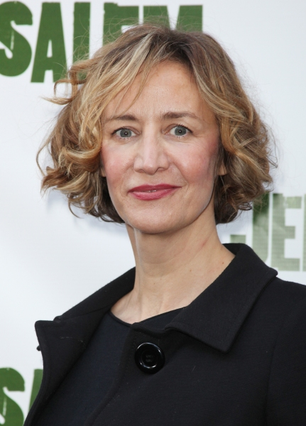 Janet McTeer attending the Broadway Opening Night Performance of 'Jerusalem' at the Music Box Theatre in New York City. at JERUSALEM Opening Night Red Carpet