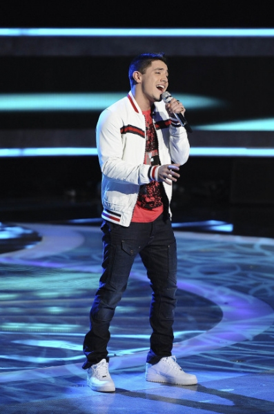 Photo Flash: Stefano Langone Leaves AMERICAN IDOL
