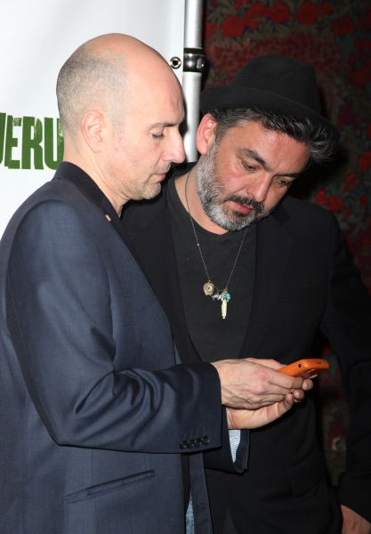 Ian Rickson & Jez Butterworth attending the Broadway Opening Night After Party for 'Jerusalem' in New York City.