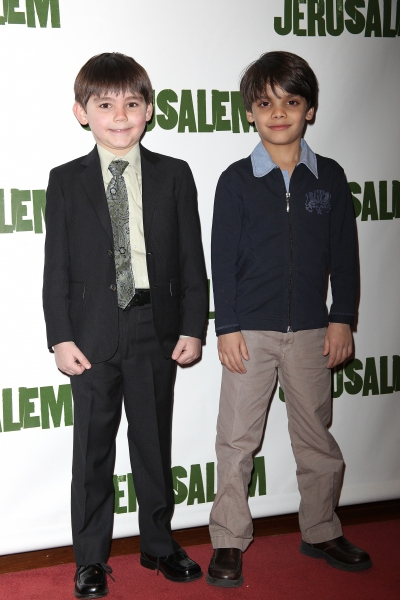 Mark Page & Aiden Eyrick attending the Broadway Opening Night After Party for 'Jerusa Photo