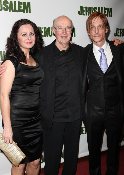 Geraldine Hughes & Alan David & Mackenzie Crook attending the Broadway Opening Night After Party for 'Jerusalem' in New York City. at  JERUSALEM Opening Night After Party