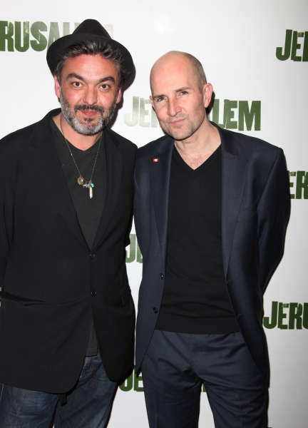 Jez Butterworth & Ian Rickson attending the Broadway Opening Night After Party for 'Jerusalem' in New York City.