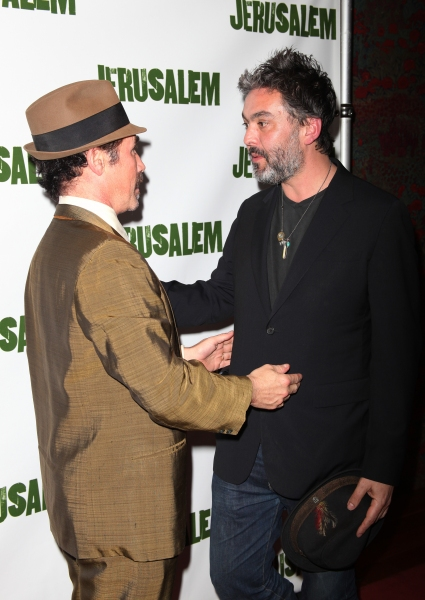 Mark Rylance & Jez Butterworth attending the Broadway Opening Night After Party for 'Jerusalem' in New York City.