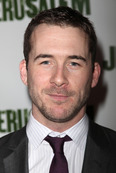 Barry Sloane attending the Broadway Opening Night After Party for 'Jerusalem' in New York City. at  JERUSALEM Opening Night After Party