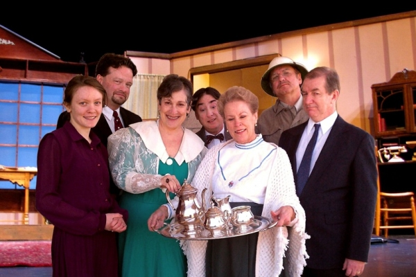 Mouse Courtois as Elaine, Jeff Stringer as Mortimer, Lenore Ferber as Aunt Abby, Paul Bianchi as Einstein, Alene Blomquist as Aunt Martha, Gary Regal as Teddy, Larry Rusinsky as Jonathan