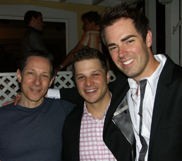 Jon Marans, Mark Shunock, and Michael Matthews at THE TEMPERAMENTALS Opens at The Blank Theatre Company!