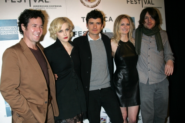 Apr. 22, 2011 - New York, New York, U.S. - ROB MORROW, RILEY KEOUGH, ORLANDO BLOOM, SOREL CARRADINE AND LANCE DALY arrive for the Tribeca Film Festival Premiere of 'The Good Doctor' at the BMCC Tribeca PAC in New York on April 22, 2011.(Credit Image: © at 'The Good Doctor' and 'Puncture' Premiere at Tribeca