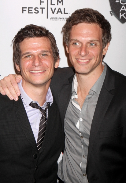 Apr. 23, 2011 - New York, USA - Directors Mark Kassen and Adam Kassen attending the after-party for the Tribeca Film Festival's premiere of Puncture at 1OAK, New York, 21.04.2011...Credit: Rolf Mueller/face to face (Credit Image: © face to face/ZUMAPRE