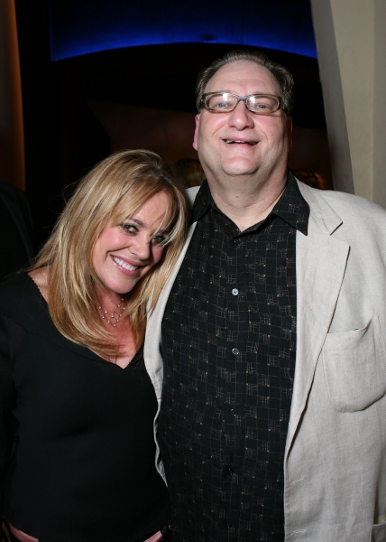 NORTH HOLLYWOOD, CA - APRIL 23: Cast members Deedee Rescher (L) and Ron Orbach (R) p Photo