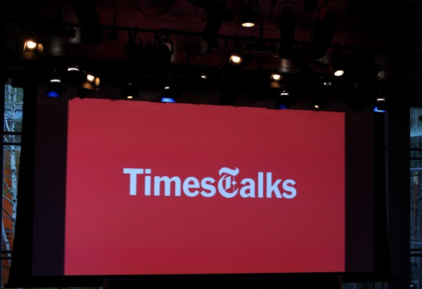Times Talks- Melena Ryzik has a Conversation with Mark Ruffalo at Times Center in New York City.  at TimesTalks with Mark Ruffalo